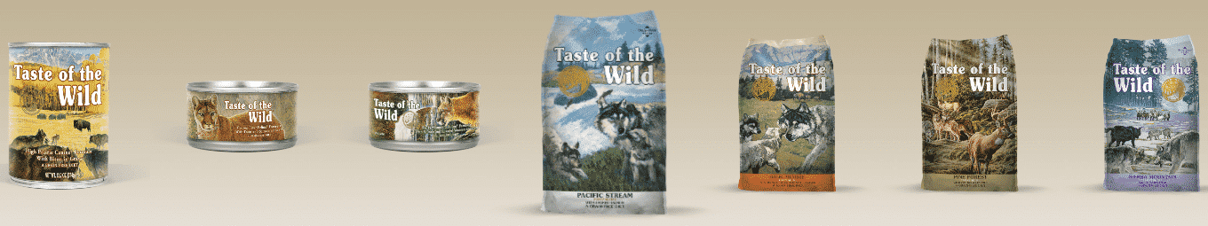 gamme taste of the wild